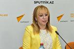 Dövlət Musiqi Mədəniyyəti Muzeyinin direktoru Alla Bayramova