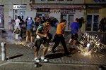 Ночные беспорядки в Марселе, фото из архива