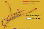 Перекрытые дороги Баку