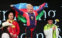 Азербайджанская и болгарская тяжелоатлетка, чемпионка мира, трёхкратная чемпионка Европы Боянка Костова