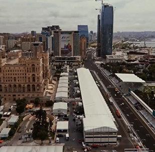 Операция F1: как строился Паддок Baku City Circuit