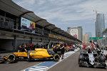 Bakıda Formula-1 üzrə Avropa Qran-prisi başladı