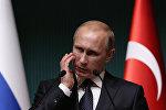 Vladimir Putin Ankarada. 1 dekabr 2014-cü il