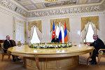 Rusiya, Azərbaycan və Ermənistan prezidentlərinin görüşü