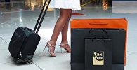 Пакет с надписью Tax Free