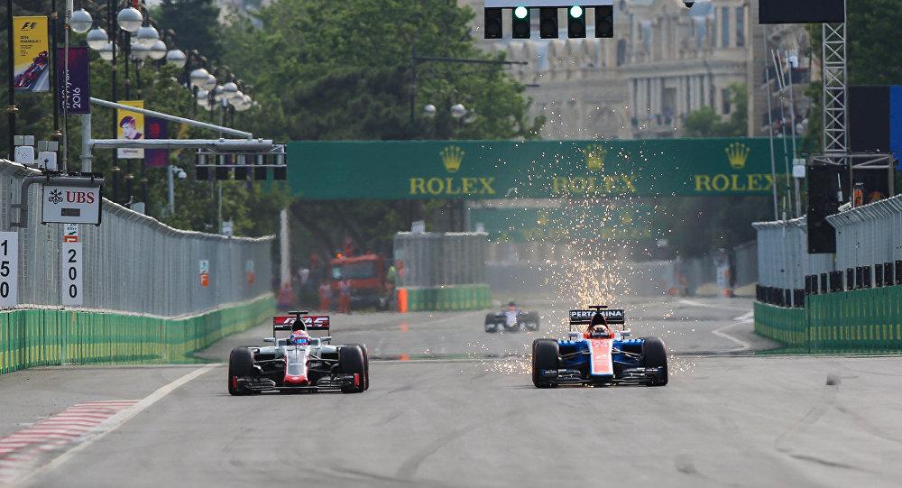 Гран-При Европы Формулы-1 в Баку, 2016 год, фото из архива