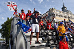 Трибуны Гран-При Формулы-1 в Баку, архивное фото