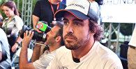 Фернандо Алонсо пилот команды McLaren Honda