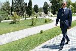 İlham Əliyev, Azərbaycan Respublikasının Prezidenti. Arxiv şəkli