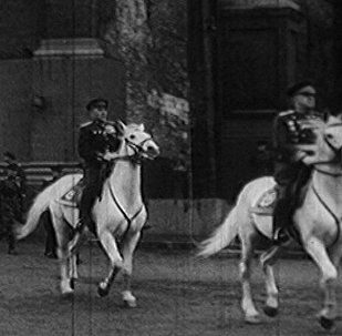Москва, Красная Площадь, 24 июня 1945 года. Парад Победы в архивных кадрах