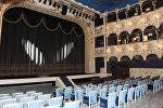 Azərbaycan Dövlət Musiqili Teatrının səhnəsi