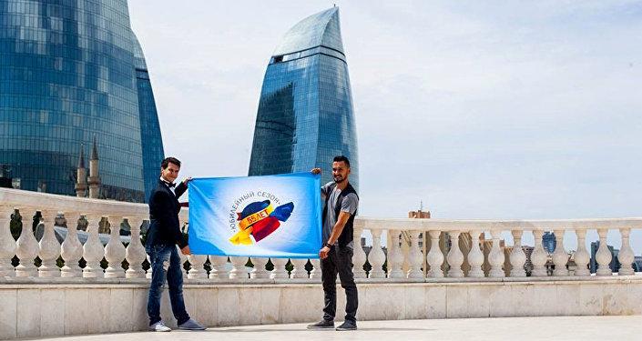 Мероприятия в рамках Эстафеты юбилейного флага КВН-55 завершились в Баку