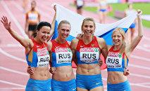 Российская сборная, завоевавшая бронзовую медаль на чемпионате Европы