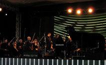 Музыкальный фестиваль в Габале. Архивное фото