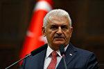 Türkiyənin baş naziri Binəli Yıldırım. Arxiv şəkli