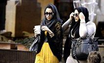 Арабские женщины в Ливане. Архивное фото