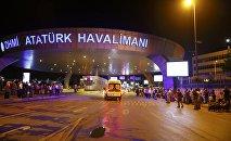 В крупнейшем аэропорту Турции произошел взрыв