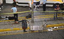 Пострадавшие в результате взрывов  в аэропорту Ататюрк