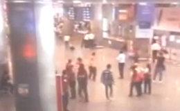 Взрывы в аэропорту Стамбула. Съемка камер слежения