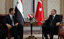 Встреча Раджапа Таййипа Эрдогана и Башара Асада в Стамбуле. 7 июня 2010 года