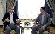Встреча Раджапа Таййипа Эрдогана и Башара Асада