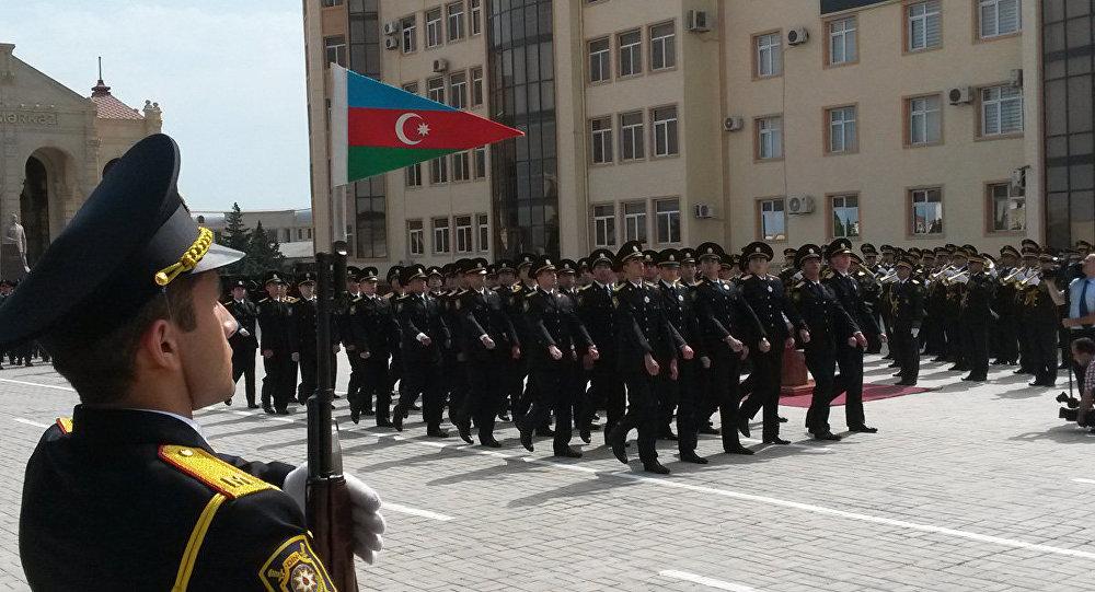 Azərbaycan Polisinin peşə bayramı. Arxiv şəkli