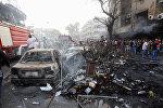 Terror aktı zamanı kamikadzenin olduğu avtomobil