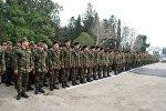 Азербайджанские военнослужащие, фото из архива