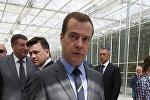 Рабочая поездка премьер-министра РФ Д. Медведева в Московскую область