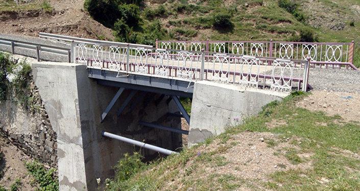 Dəstəfur-Qıyıxlı avtomobil yolunundakı körpü bərpa edilib