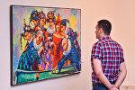 Выставка Байрама Саламова
