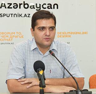Эльхан Шахиноглу, политолог, руководитель аналитического центра Атлас