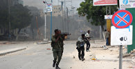 Солдаты правительственных войск Сомали