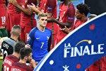 Игрок сборной Франции Антуан Гризманн