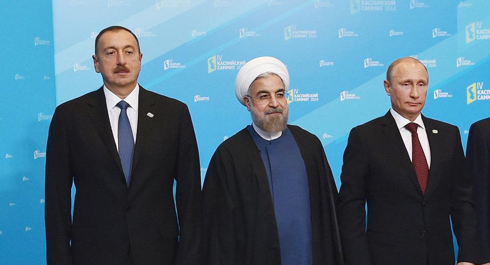 Image result for Azərbaycan İran Rusiya