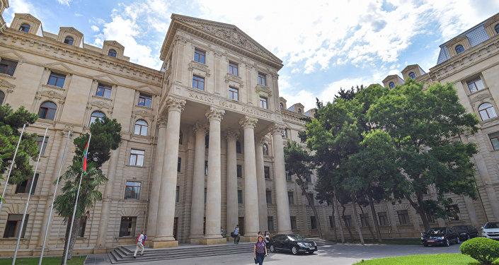 Здание Министерства иностранных дел Азербайджанской Республики в Баку, фото из архива