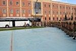 Группа миротворцев из Азербайджана отправилась в Афганистан