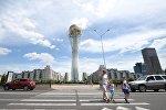 Монумент Астана-Байтерек в центре Астаны