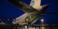 Военно-транспортный самолет Ан-124-100 Руслан