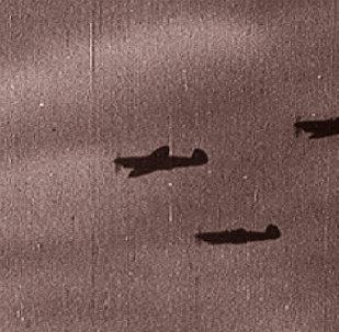 Первый налет люфтваффе на Москву. Съемки 1941 года