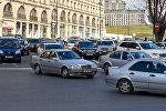 Пробки в Баку, фото из архива