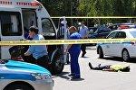 Qazaxıstanın Alma-Ata şəhərinin mərkəzində silahlı basqın nəticəsində bir neçə polis əməkdaşı ölüb