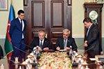 """SOCAR və Rumıniyanın """"Transqaz"""" şirkəti Qarşılıqlı Anlaşma Memorandumu imzalayıblar"""