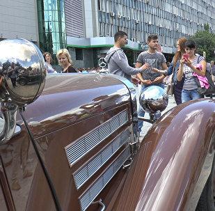 Автопробег в стиле ретро на дорогах Молдовы