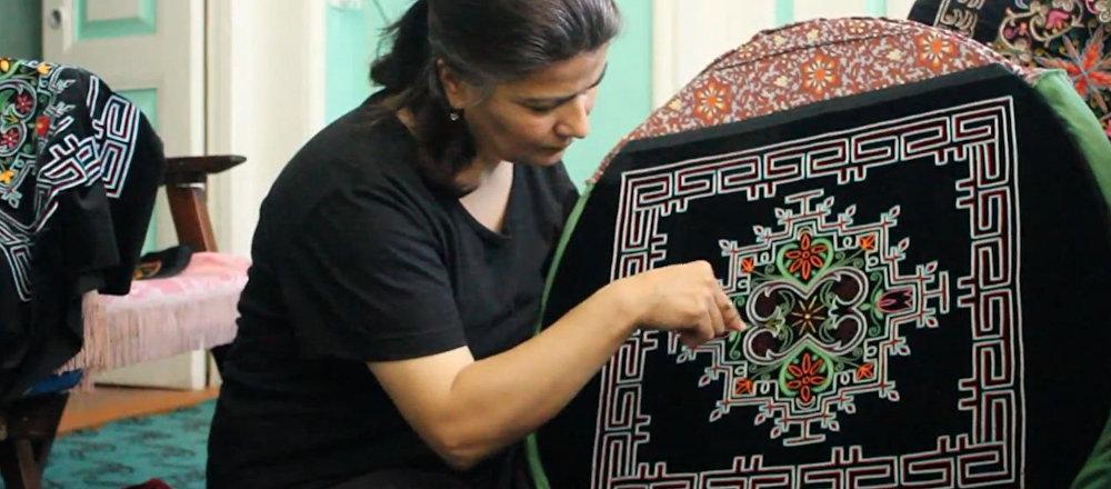 Текелдуз: мужское ремесло, ожившее в руках женщин