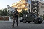 Marmaris şəhərində polis. 16 iyul 2016-cı il