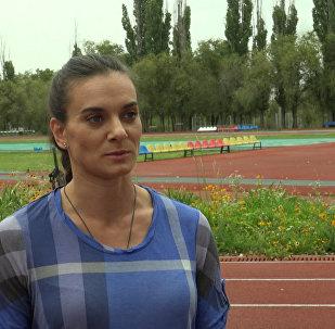 Исинбаева высказалась о нападках CAS на российских легкоатлетов