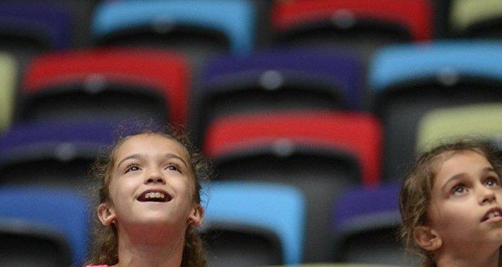 Bakıda bədii gimnastika üzrə Dünya Kuboku yarışlarının ilk günü start götürüb