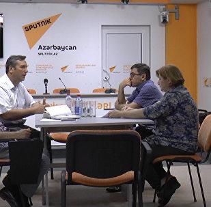 Azərbaycan jurnalistikasının bu günü müzakirə müzakirə olundu