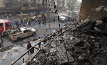 Взрыв в торговом центре в Багдаде